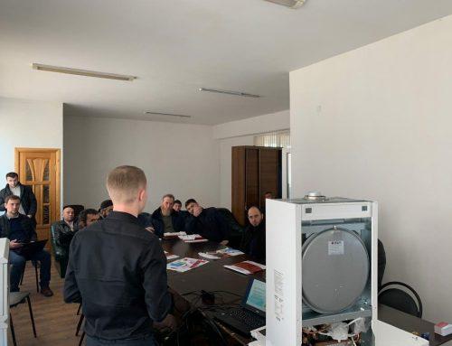 Провели плановый семинар по настенным котлам «OASIS»